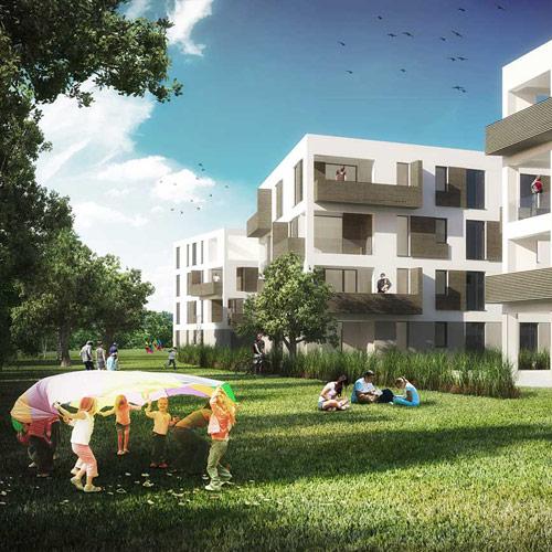 Sozialer Wohnungsbau Unterneustadt, Kassel